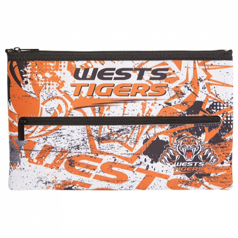 Wests Tigers Neoprene Pencil Case