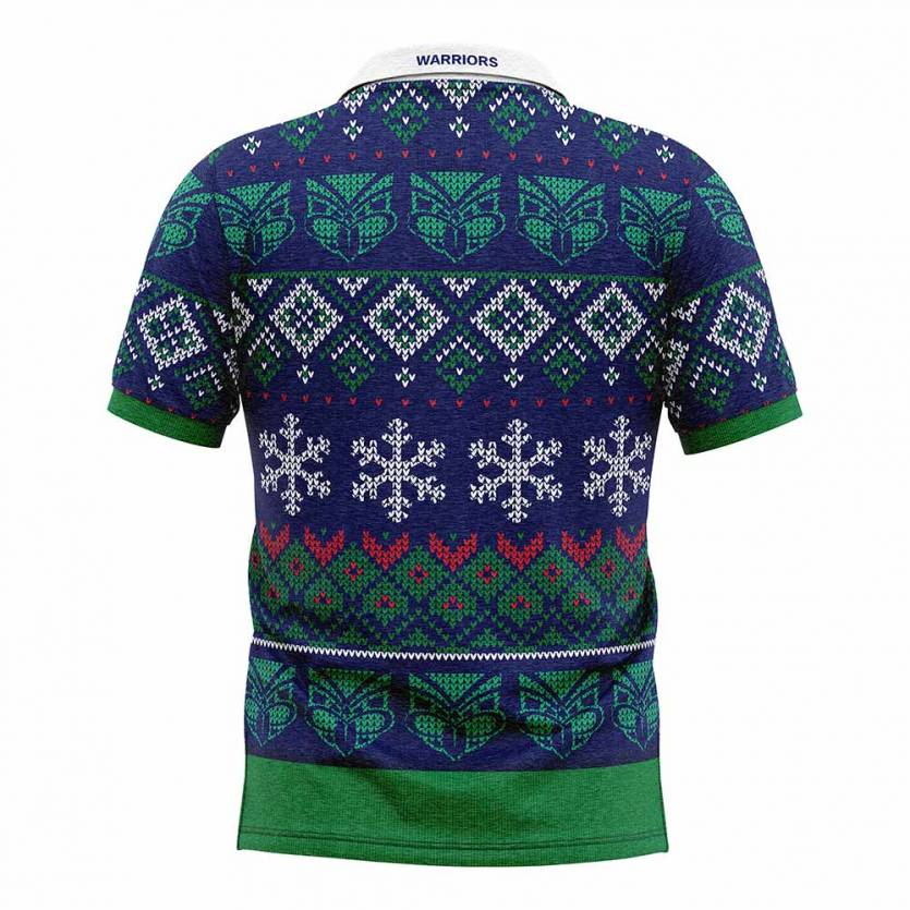 Warriors Xmas Novelty Shirt