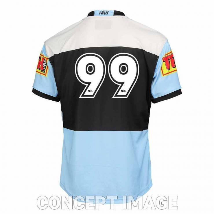 Cronulla Sharks 2021 Home Replica Jersey Mens