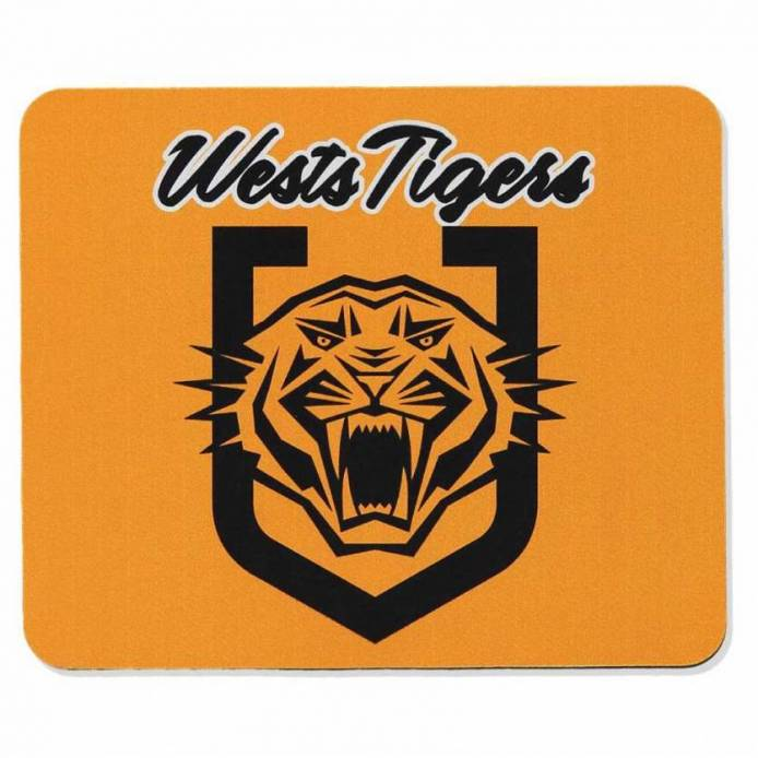 West Tigers Shield Mousepad