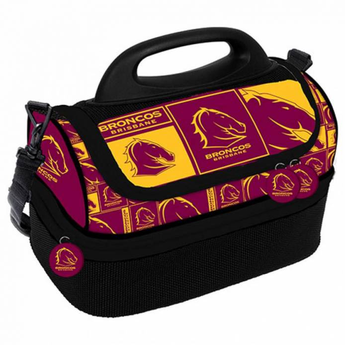 Broncos Print Dome Cooler Bag