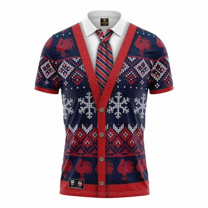 Roosters Xmas Novelty Shirt