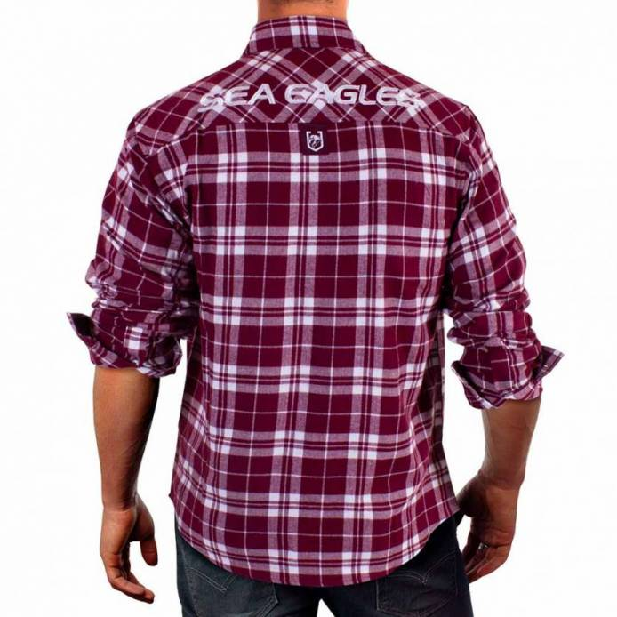 Sea Eagles Flannel Shirt