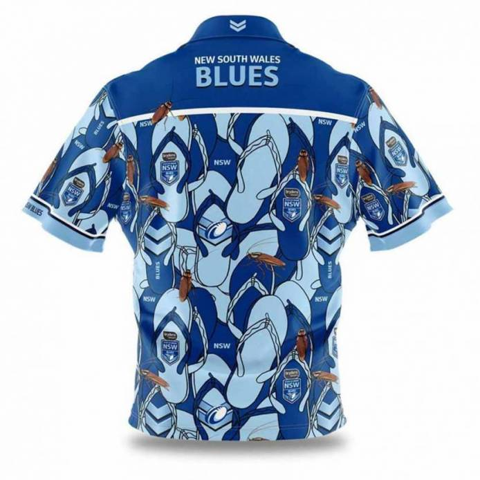 NSW 2020 Hawaiian Shirt Mens