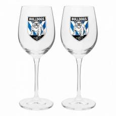 NRL CANTERBURY BANKSTOWN BULLDOGS 4PK SHOT GLASSES SET GIFT BOXED
